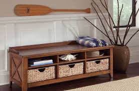 Build A Storage Bench Oak Storage Bench For More Functional Addition Home Inspirations