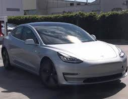 tesla model 3 leaked images exterior and interior revealed in