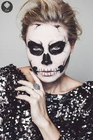 Skeleton Halloween Face Makeup by 36 Best H A L L O W E E N M A K E U P Images On Pinterest