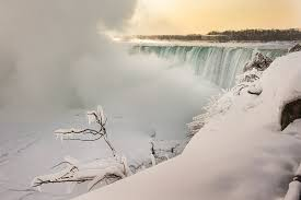 niagara falls freeze side pictures telegraph