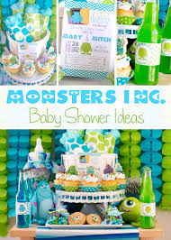 cookie monster baby shower monsters inc baby shower ideas pinkducky com all about baby