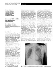 veno venous ecmo in ards after post traumatic pneumonectomy pdf