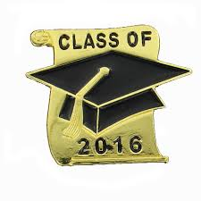 class of 2016 graduation 8 inch gold graduation hat scroll class of 2016 lapel pin