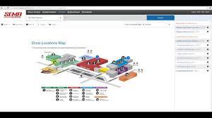 Floor Plan Web App Sema 2016 Show Planner Floor Plan App Its Amazing Youtube