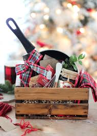 cooking gift baskets christmas breakfast easy hostess gift