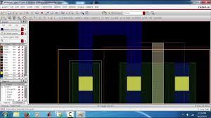 virtuoso layout design basics layout of inverter in cadence virtuoso 90 nm part1 youtube