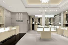 shop decoration luxurious ceiling design of jewellery shop decoration 2017 with