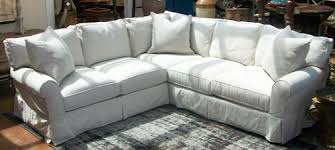 slipcover for sectional sofa home tips for sectional sofa design slipcovered sectional