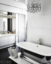black white bathroom floor tile towel hanger iron water tap