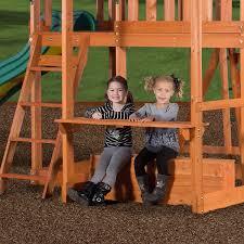 amazon com backyard discovery monticello all cedar wood playset