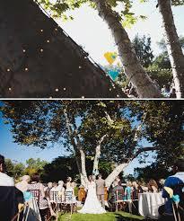 Elegant Backyard Wedding Ideas by Christie Josh U0027s Elegant Backyard Real Wedding Green Wedding