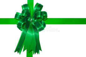 green gift bow green satin gift bow stock photo image of 17226944