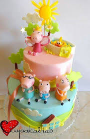 peppa pig cakes 353 best peppa pig cakes images on birthday cakes
