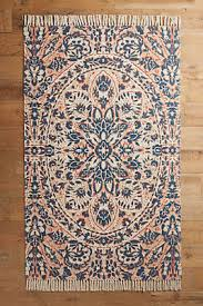 coral and blue rug your anthropologie registry pinterest
