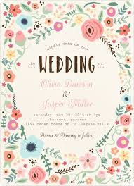 garden wedding invitations whimsical floral garden frame wedding invitation wedding invitations