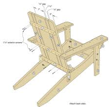 Plans For Wood Deck Chairs by 34 Best Adirondack Chair Plans Images On Pinterest Adirondack
