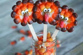 corn thanksgiving turkey lollipops the report