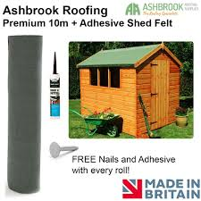 How To Re Roof A Shed With Onduline Corrugated Roofing Sheets by Premium 10m Shed Felt Green Free Nails And Adhesive Amazon Co