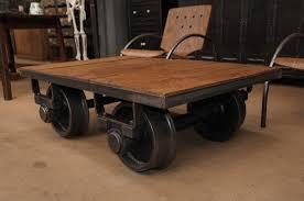 railroad cart coffee table coffe table coffeeable diy cart hardware hamilton for sale