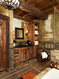 dc metro mission style bathroom craftsman with natural cherry