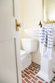 how to the most of a small powder room