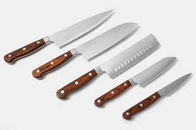 forged kitchen knives zhen vg 10 3 layer forged kitchen knives price reviews massdrop