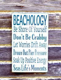 wall decor splendid beach sign beachology unique beach theme