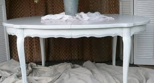 table pleasing shabby chic round extendable dining table