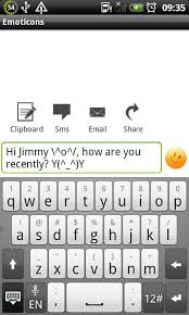 emoticons for android texting text emoticons android apps on play