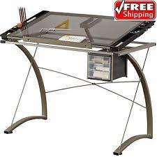 Glass Top Drafting Drawing Table Drafting Light Table Ebay
