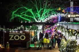 Zoo Lights Woodland Park Zoo by 吃货小分队 西雅图绚丽灯光秀攻略 免费日半价日不要错过