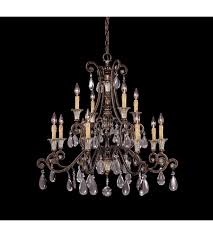 New Chandelier Savoy House 1 3003 12 8 St Laurence 12 Light 34 Inch New Tortoise