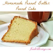 homemade peanut butter pound cake embraced essence
