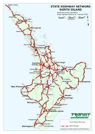 island state highway map island new zealand mappery