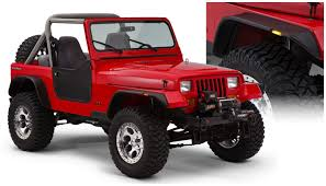 jeep fender flares jk amazon com bushwacker 10924 07 jeep flat style fender flare set