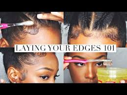 hair styles to cover bad edges best 25 baby hairs ideas on pinterest afro hair maintenance