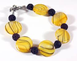 yellow pearl bracelet images All about color colorful jewelry with lots of bling and sparkle JPG