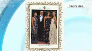 the obamas send their final white house christmas card today com
