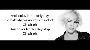Wavin Flag Lyrics Pink Today U0027s The Day Lyrics Theme For Ellen