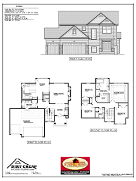 floor plans for homes two story barrington hills u0027 floor plans