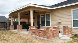 Concrete Patio Houston Custom Patio Cover Contractor In Houston Designing Beautiful Shade