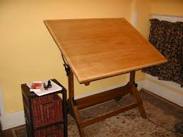 Utrecht Drafting Table Drafting Table Plans Custom Solid Wood Drafting Table Constructed