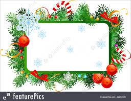holidays christmas frame stock illustration i2337325 at featurepics