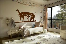 Safari Decor For Living Room Fancy African Safari Decor In Baby Nursery Room Idea Outstanding
