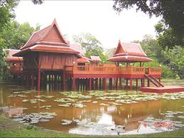 Exotic House Plans by Baan Thai Traditional Thai House Thai Architecture Travel