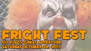 Six Flags Bus Schedule Fright Fest At Six Flags Great Adventure