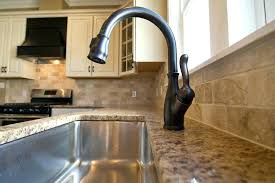 bronze kitchen faucets delta bronze kitchen faucet rubbed besto thedailygraff