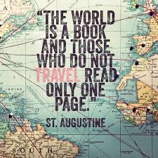 The world is a book Don t read only one page