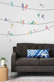 151 best decorativos images on pinterest wall stickers drawings walls need love paisley birds on wire wall decal