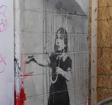 banksy s katrina mural survives curious theft attempt nbc news image a mural by the artist banksy in new orleans
